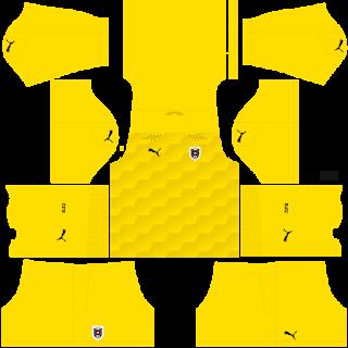Austria Euro Cup 2021 Goalkeeper Home Kit