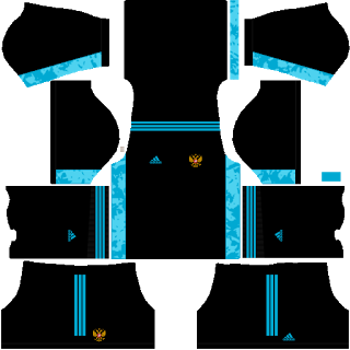 Russia Euro Cup 2021 Goalkeeper Home Kit