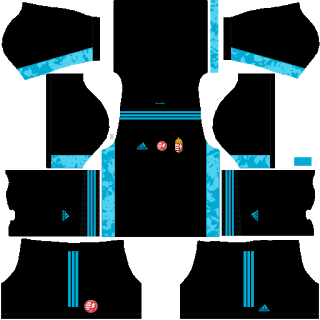 Hungary Euro Cup 2021 Goalkeeper Third Kit