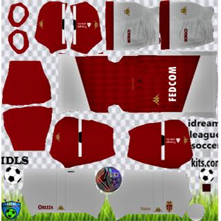 AS Monaco DLS Kits 2021