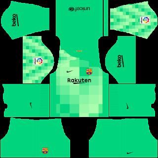 Barcelona gk away kit 2022