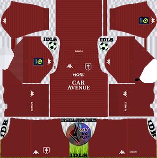 FC Metz DLS Kits 2021