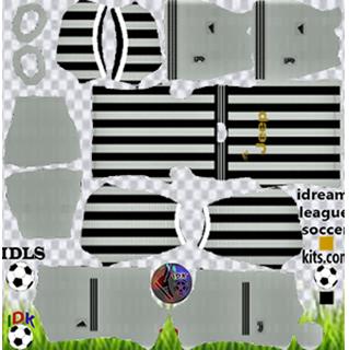 Juventus Home Kit(White Shorts)