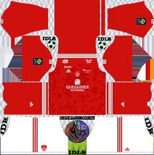 Stade Brestois DLS Kits 2021