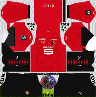 Stade Rennais FC DLS Kits 2021