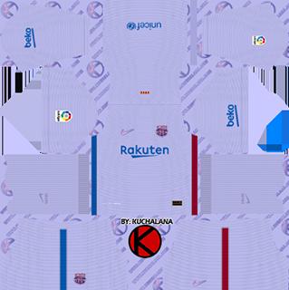 barcelona away kit 2021-22