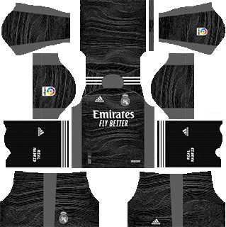 real madrid gk home kit 2021-22
