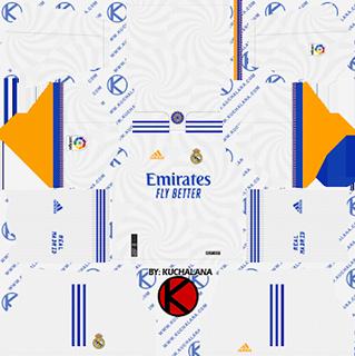 Real Madrid DLS Kits 2022