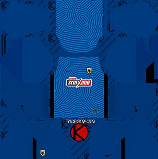 AEK fc gk away kit 2021-22