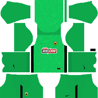 AEK fc gk home kit 2021-22