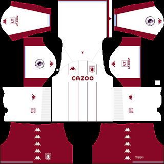 Aston Villa away kit 2022
