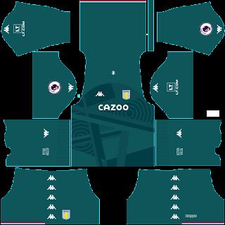 Aston Villa gk away kit 2022