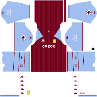 Aston Villa FC DLS Kits 2022