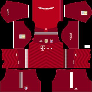 Bayern Munich DLS Kits 2022