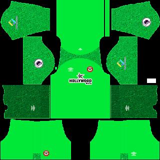 Brentford gk home kit 2022