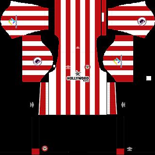 Brentford FC DLS Kits 2022