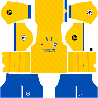 Brighton & Hove Albion third kit 2022