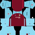 Burnley FC DLS Kits 2022
