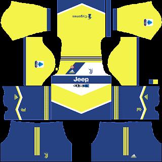 Juventus third kit 2022