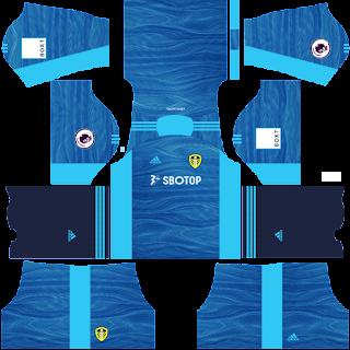 Leeds United gk home kit 2022