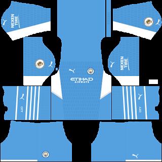 Manchester City DLS Kits 2022