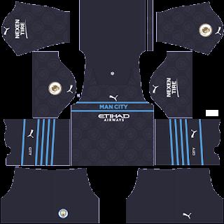 Manchester City third kit 2022