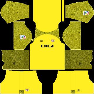 Rayo Vallecano gk home kit 2022