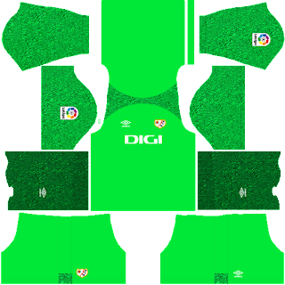 Rayo Vallecano gk third kit 2022