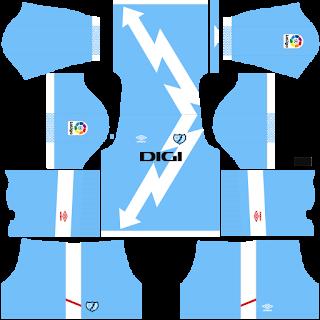 Rayo Vallecano third kit 2022