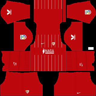 Sevilla away kit 2022
