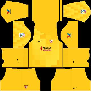 Sevilla gk away kit 2022