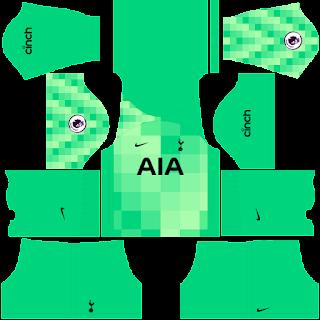 Tottenham Hotspur gk home kit 2022