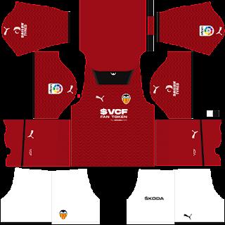 Valencia away kit 2022