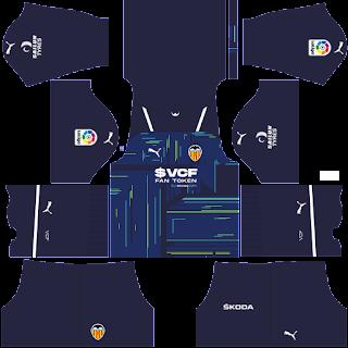 Valencia gk home kit 2022