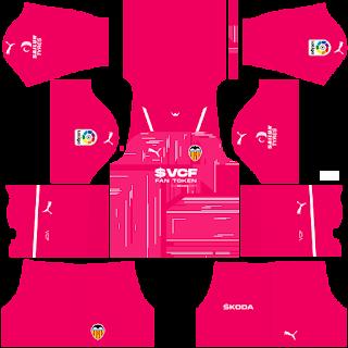 Valencia gk third kit 2022