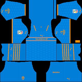 Valencia third kit 2022
