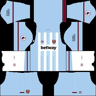 West Ham away kit 2022