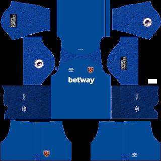 West Ham gk away kit 2022
