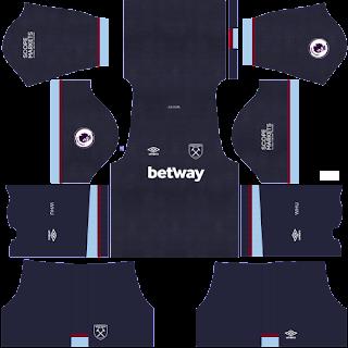 West Ham third kit 2022