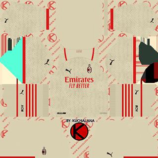 ac milan away kit 2021-22