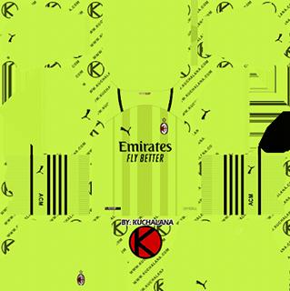 ac milan gk home kit 2021-22