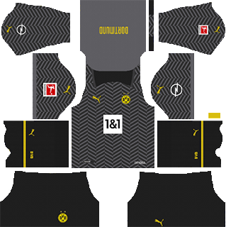 borussia dortmund away kit 2021-22