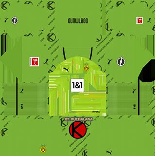 borussia dortmund gk away kit 2021-22