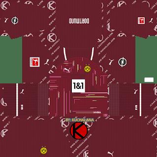 borussia dortmund gk third kit 2021-22