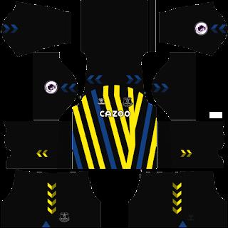 everton gk home kit 2022