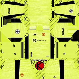 manchester united gk home kit 2021-22