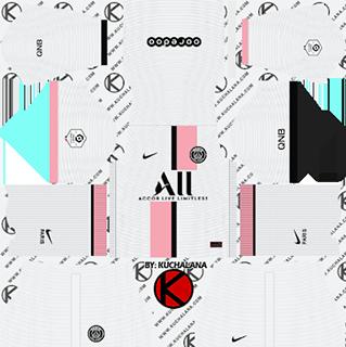 paris saint germain psg away kit 2021-22