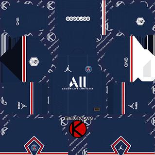 Paris Saint-Germain DLS Kits 2022