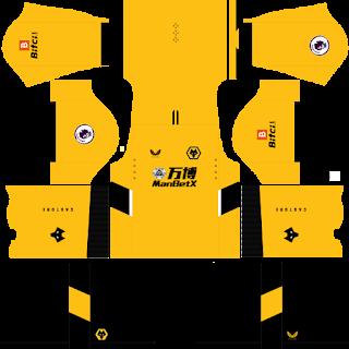 Wolverhampton Wanderers FC DLS Kits 2022