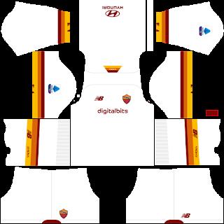 AS Roma away kit 2022